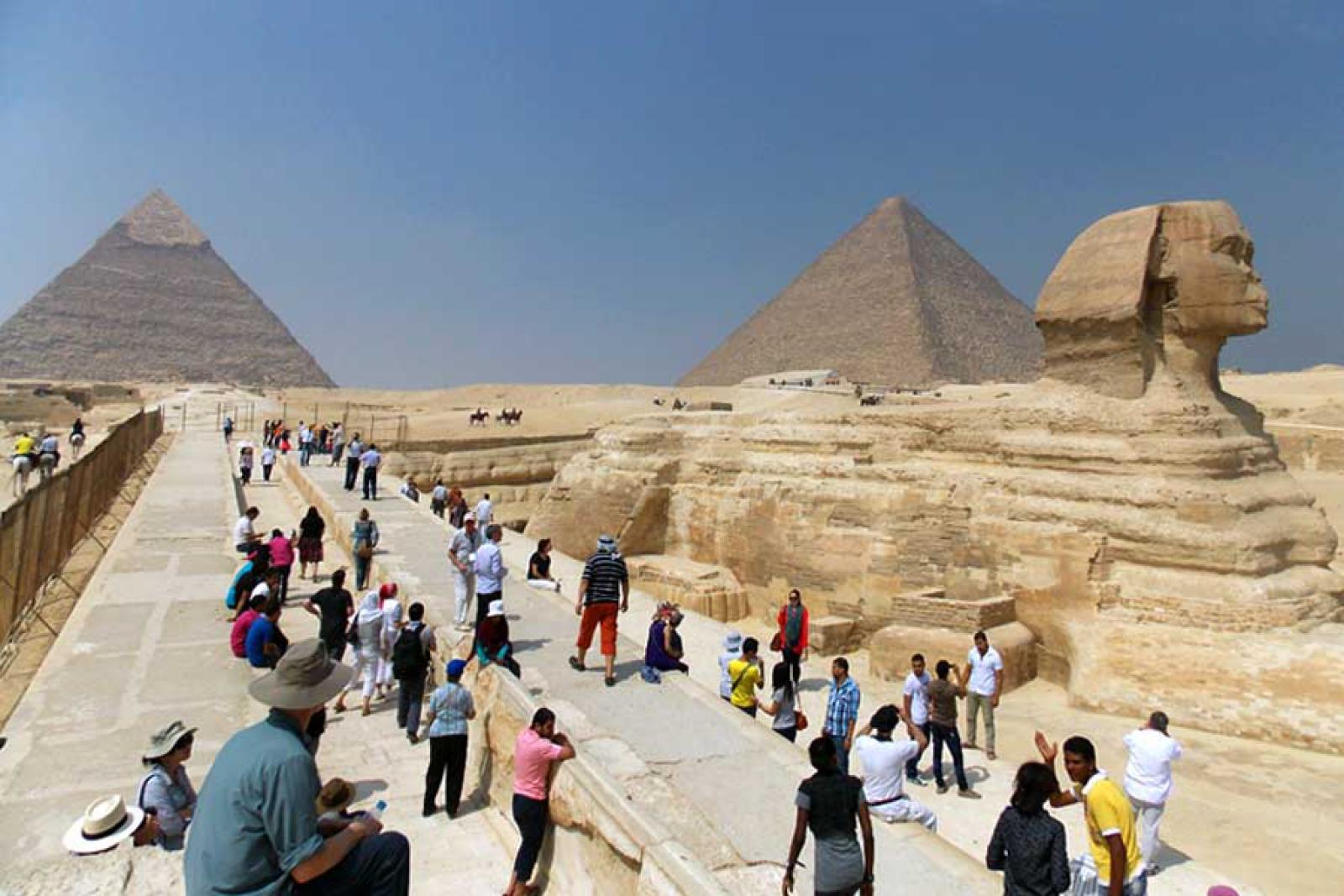 Украинских туристов в Египте закрыли на карантин