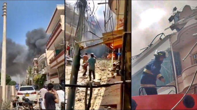 В Пакистане разбился пассажирский самолет: на борту было 107 человек – СМИ