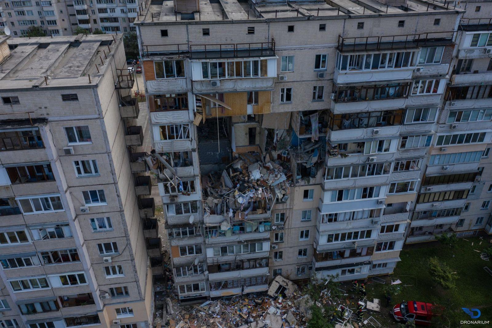 Взрыв дома в Киеве: найдено тело ещё одного погибшего