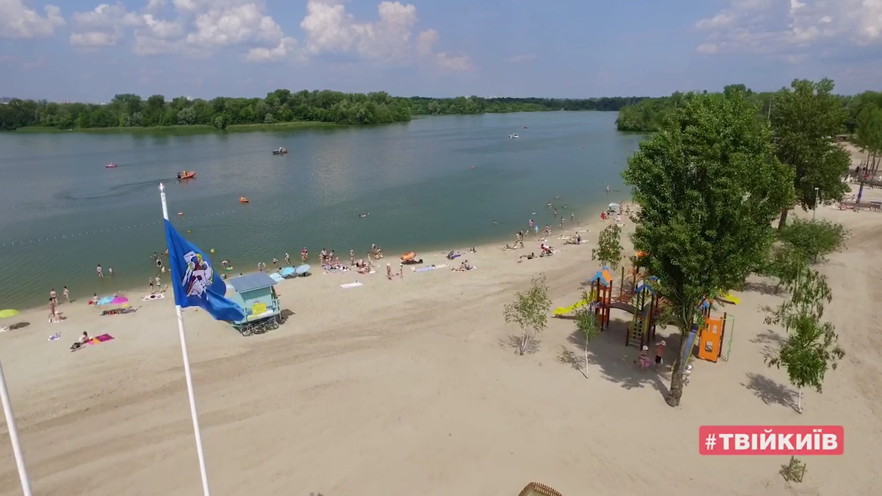 Киевские пляжи теперь открыты для купания – Кличко