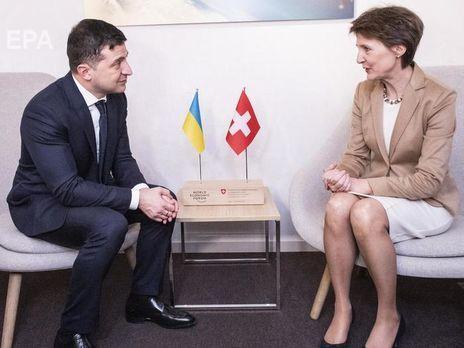 В Киеве ограничат движение в связи с визитом президента Швейцарии