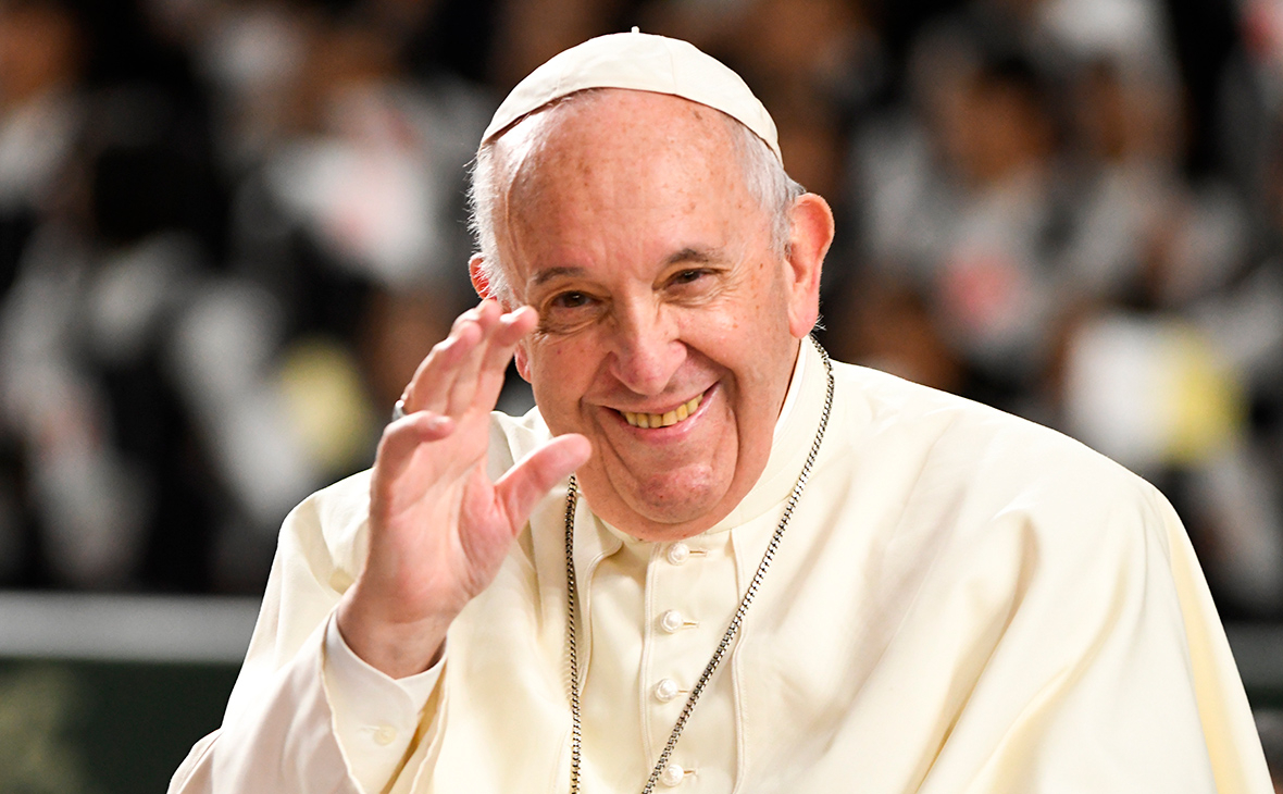 Папа римский назвал секс и хорошую еду «божественным» удовольствием