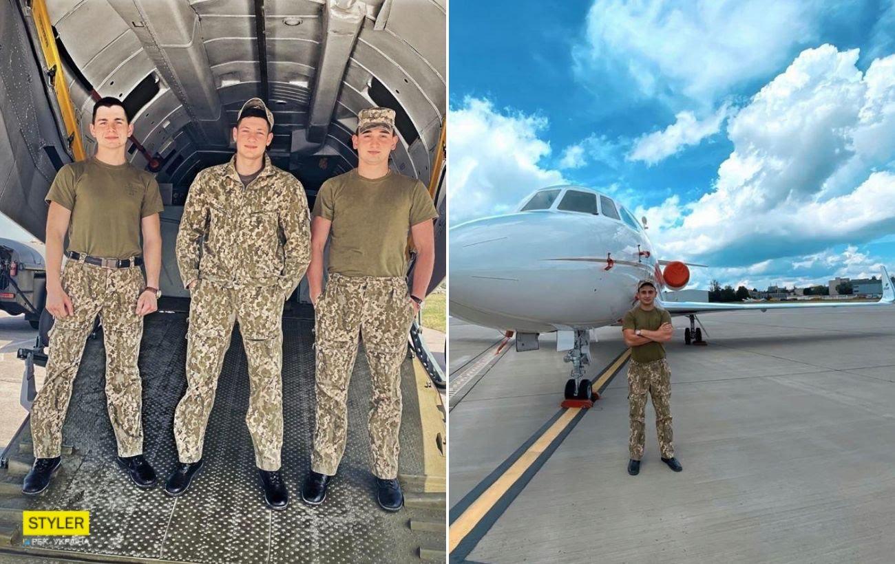 Появились фото курсантов, погибших при падении самолета в Чугуеве