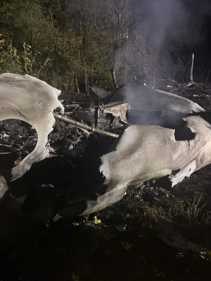 В Офисе Президента сообщили подробности авиакатастрофы под Харьковом