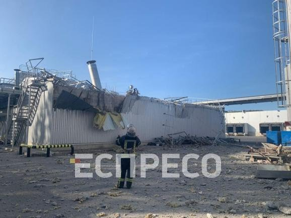 В Киеве произошел взрыв на заводе Carlsberg