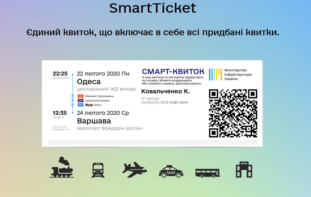 В Киеве начали продавать единый билет для городского транспорта и поездов дальнего следования