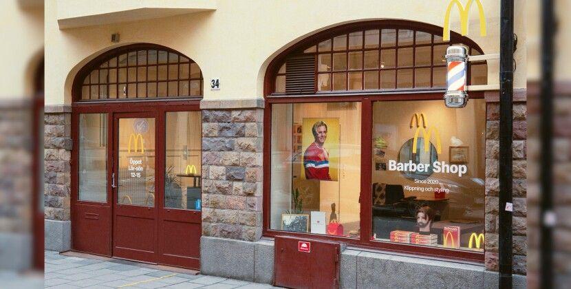 McDonald's открыл парикмахерскую, где делают одну прическу