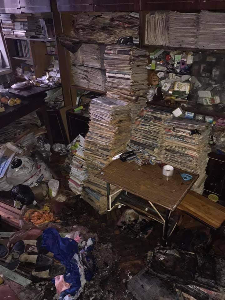 В Киеве женщина, которая собирала мусор в квартире,   сгорела заживо