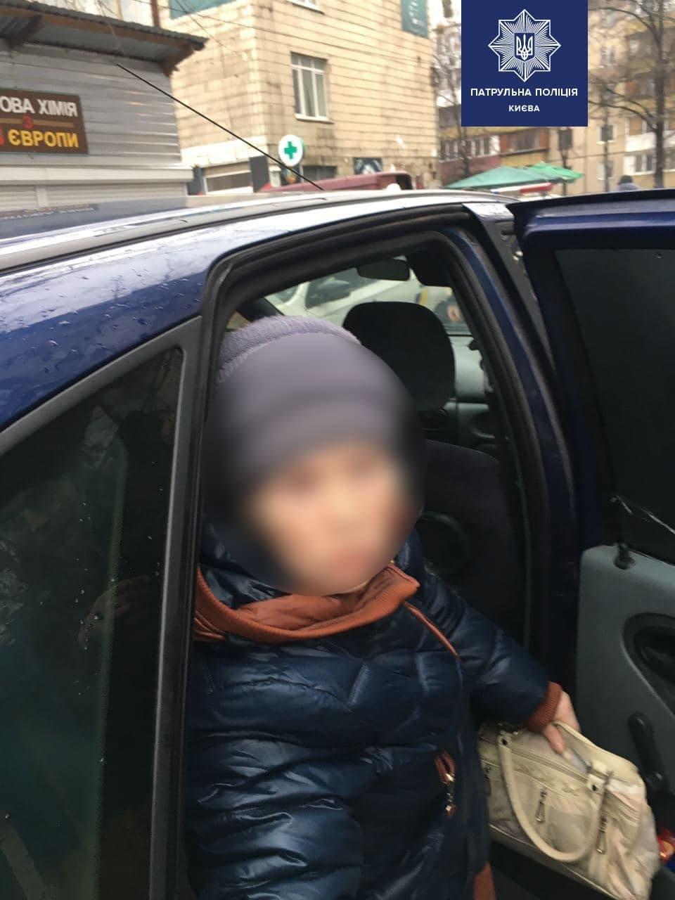 В Киеве на глазах у внучки украли бабушку