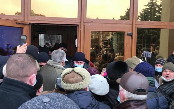 В Украине проходят протесты против повышения тарифов