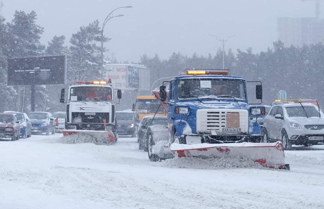 В Киеве ограничили въезд крупногабаритного транспорта