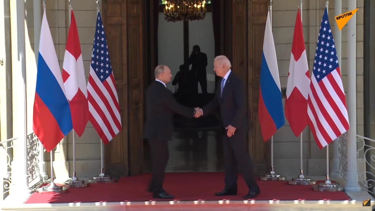 Саммит Путина и Байдена в Женеве (ТРАНСЛЯЦИЯ)