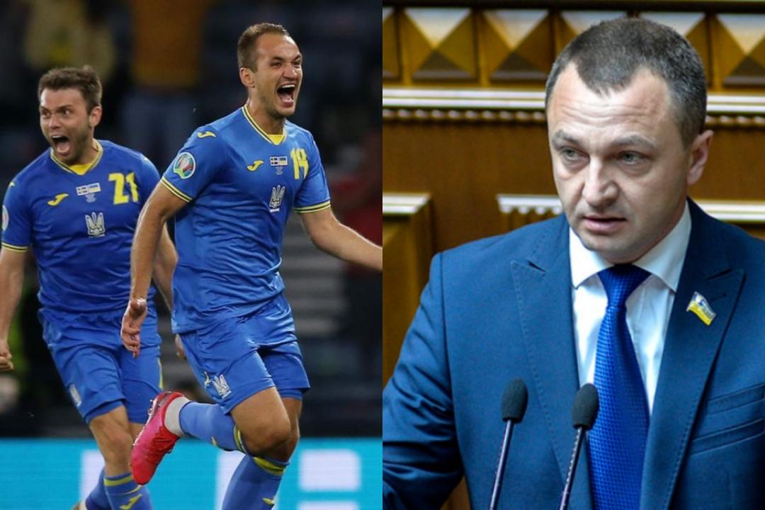 Креминь хочет, чтобы сборная по футболу при подготовке к матчу с Англией срочно учила украинский язык