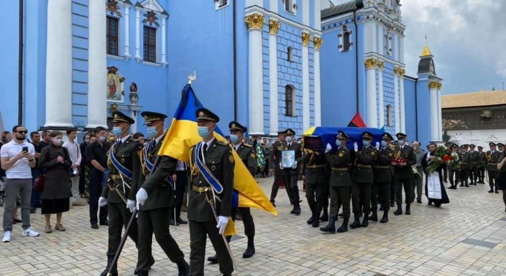 """В Минобороны заявили, что не знали, что отправляют президентский полк на похороны члена дивизии СС """"Галичина"""""""