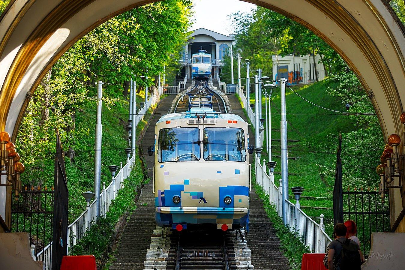 Киевский фуникулер с понедельника закрывается