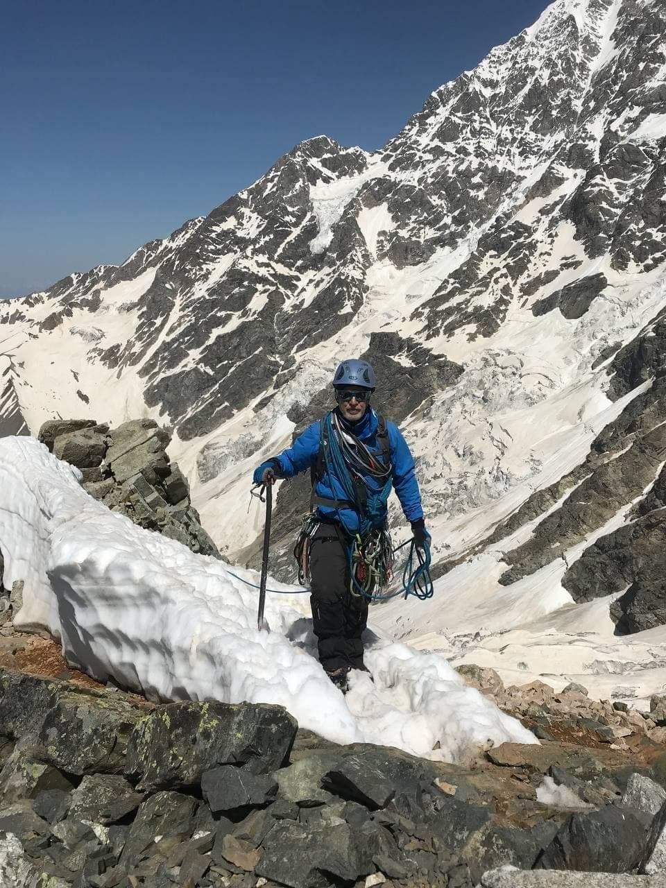 В Грузии погиб украинский альпинист