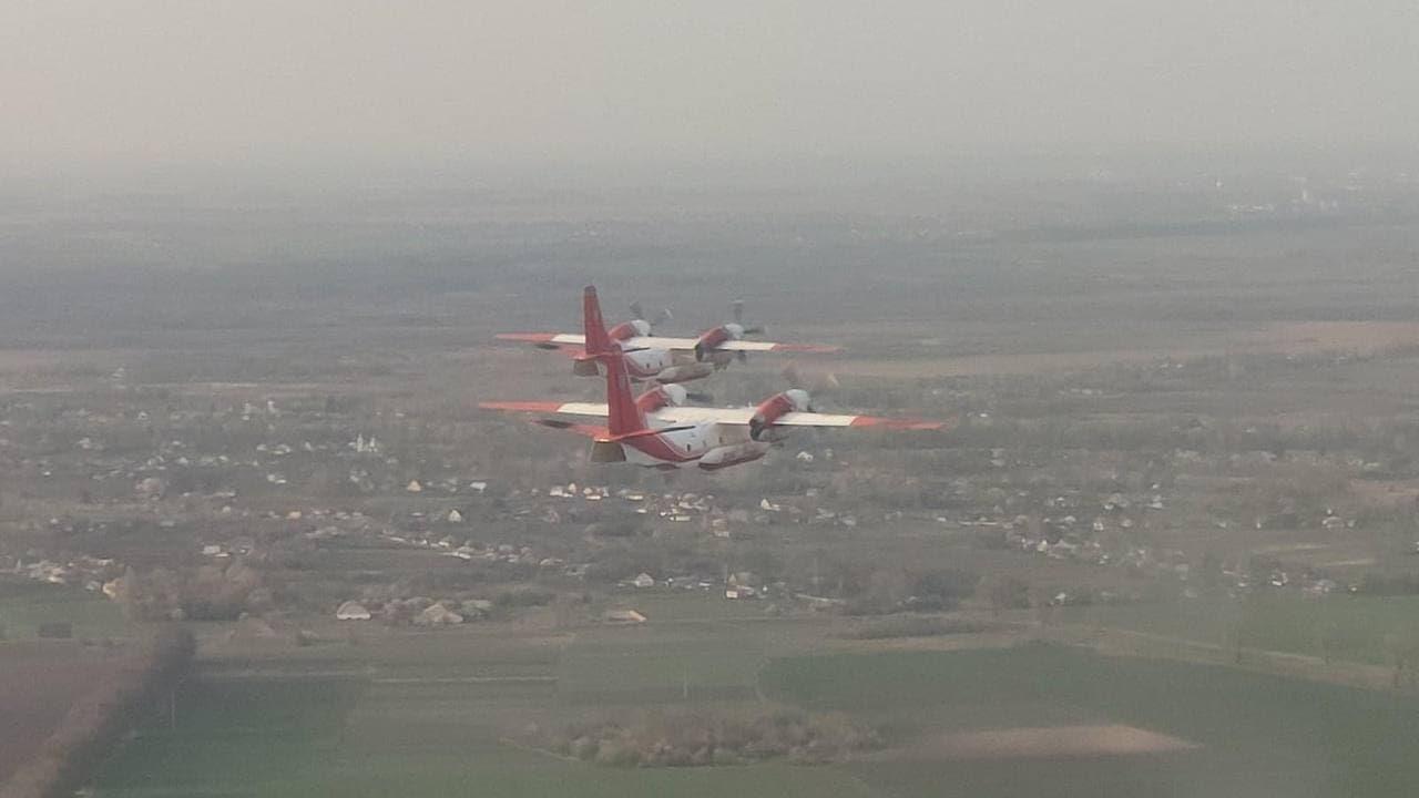 Украина отправила в Турцию самолеты ГСЧС для тушения масштабных лесных пожаров