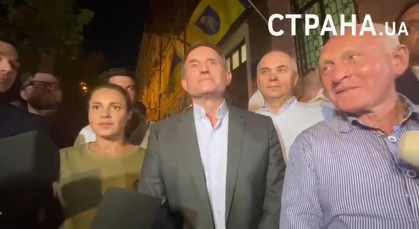 Комментарий Виктора Медведчука после судебного заседания