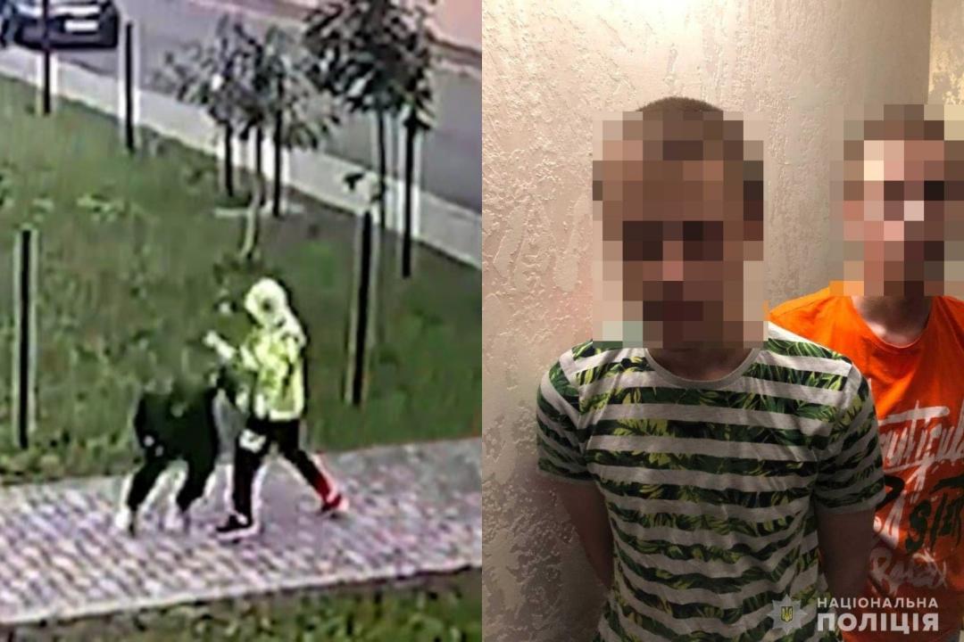 В Ровно двое 15-летних братьев напали на прохожую с ножом