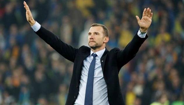 Андрей Шевченко покидает пост тренера сборной Украины