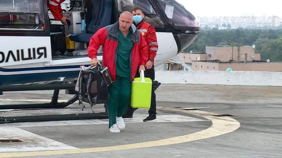 В Киев за 50 минут доставили донорское сердце, его пересадили 12-летней девочке