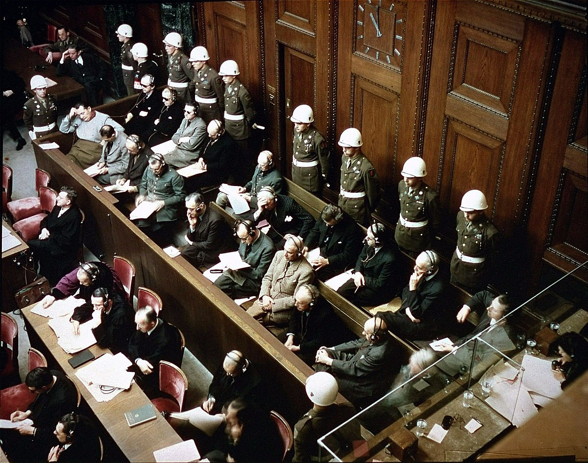 Двадцать лет работы. Опубликованы тысячи фото и материалов Нюрнбергского процесса к его 75-летней годовщине